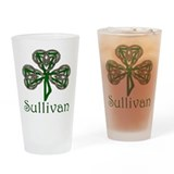 Sullivan Shamrock Pint Glass