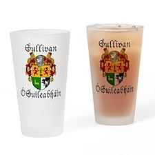 Sullivan In Irish & English Pint Glass