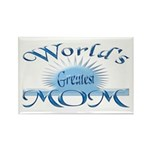 World's Greatest Mom Rectangle Magnet (100 pack)