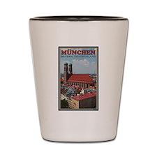 Munich Frauenkirche Shot Glass