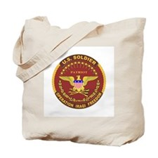 Coast Guard OP Iraqi Freedom Tote Bag