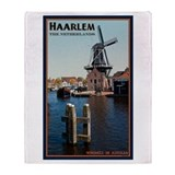 De Adrian Windmill Throw Blanket