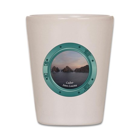 Cabo Sunset Porthole Shot Glass