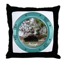 Belize Porthole Throw Pillow