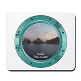 Cabo Sunset Porthole Mousepad
