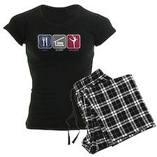 Eat Sleep Ballet Girl 3 Pajamas