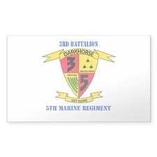 3rd Battalion 5th Marines with Text Decal