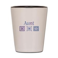Aunt Crafty Shot Glass