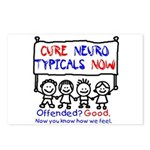 Cure Neurotypicals Postcards (Package of 8)