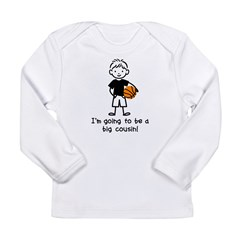 Big Cousin to be Long Sleeve Infant T-Shirt