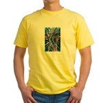 Lightning Thoughts Yellow T-Shirt