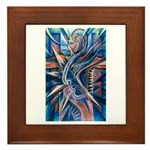 Lightning Thoughts Framed Tile