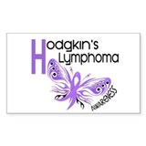 Butterfly 3.1 Hodgkin's Lymphoma Decal