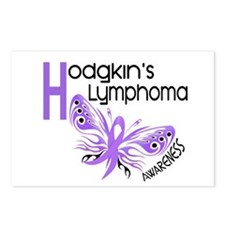 Butterfly 3.1 Hodgkin's Lymphoma Postcards (Packag