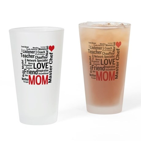 Mom's Birthday / Mother's Day Pint Glass