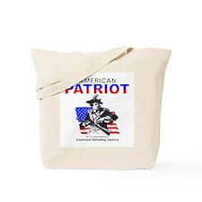 National Guard American Patri Tote Bag