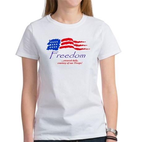"""Freedom Ensured"" Women's T-shirt"