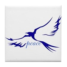 Dove of Peace Tile Coaster