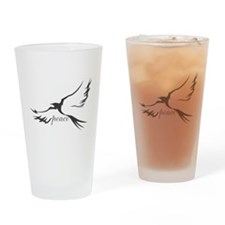 Dove of Peace Drinking Glass