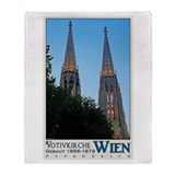 Vienna Votivkirche Throw Blanket
