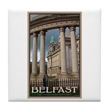 Belfast City Hall Tile Coaster