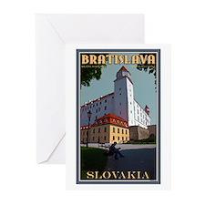 Bratislava Castle Greeting Cards (Pk of 10)