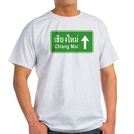 Chiang Mai Traffic Sign Light T-Shirt