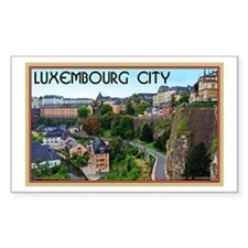 Luxembourg City Decal
