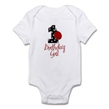 Birthday Girl - LADYBUG 1 Infant Bodysuit