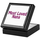 Most Loved Nana Keepsake Box