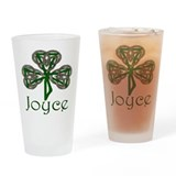 Joyce Shamrock Pint Glass