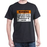 Excessive Speed Black T-Shirt