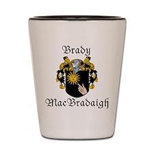 Brady in Irish/English Shot Glass