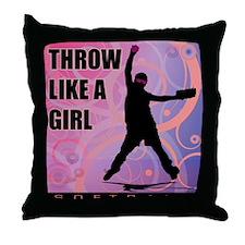 2011 Softball 98 Throw Pillow