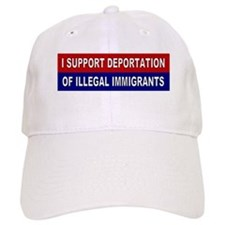 Support Deportation Baseball Cap