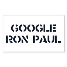 Google Ron Paul Decal