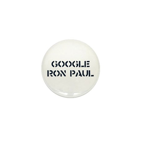 Google Ron Paul Mini Button (10 pack)