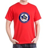 Patriotic Minuteman Black T-Shirt