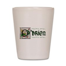 O'Brien Celtic Dragon Shot Glass