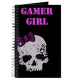 Skull with Bow, Gamer Girl Journal