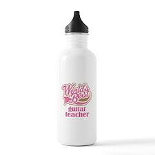 Guitar Teacher Gift Water Bottle