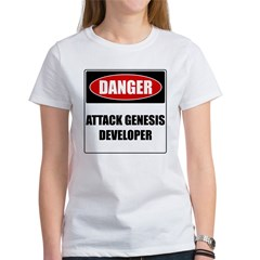 ATTACK GENESIS DEVELOPER Women's T-Shirt
