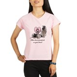 Elkie Pawprints Women's Sports T-Shirt