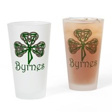 Byrnes Shamrock Drinking Glass