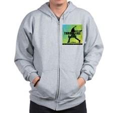 2011 Softball 9 Zip Hoody