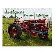 Antiques Farm Edition Wall Calendar