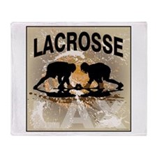 2011 Lacrosse 12 Throw Blanket