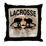 2011 Lacrosse 12 Throw Pillow