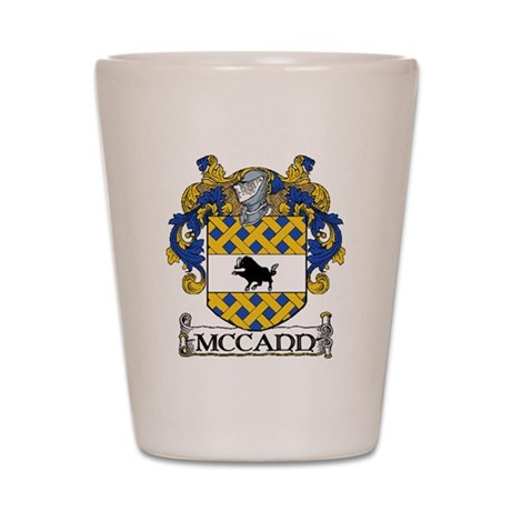 McCann Coat of Arms Shot Glass