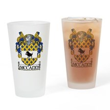 McCann Coat of Arms Drinking Glass